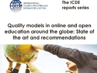 Webinar on quality models in online and open education