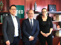 EADTU meets with New Rector UNED, Ricardo Mairal