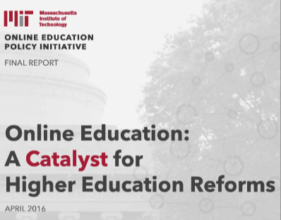 Online Education: A Catalyst for Higher Education Reforms