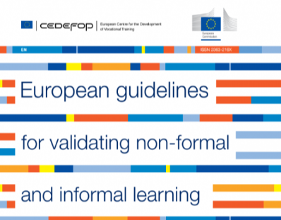 European guidelines for validating non-formal and informal learning