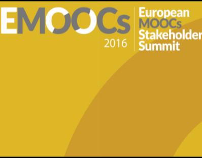 Proceedings EMOOCS2016