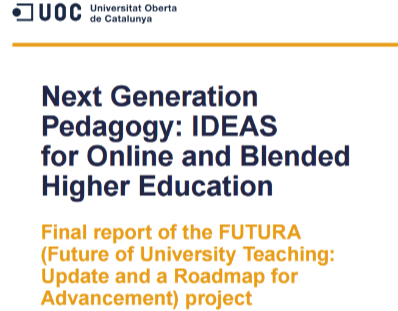 Next Generation Pedagogy: IDEAS for Online and Blended Higher Education