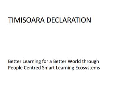 Timisoara Declaration