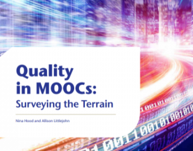 Quality in MOOCs: Surveying the Terrain