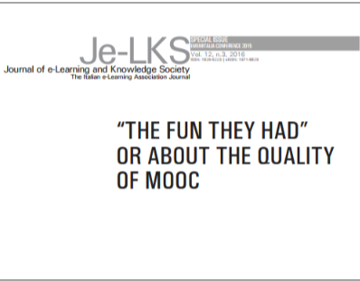 """The fun they had"" or about the quality of MOOC"