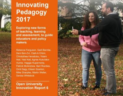 Innovating pedagogy 2017