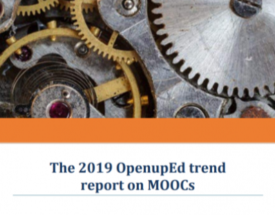 The 2019 OpenupEd trend report on MOOCs